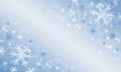 Abstract winter holiday background.