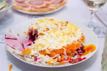 Dressed Herring Salad