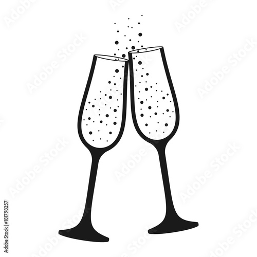 S Champagne Glasses