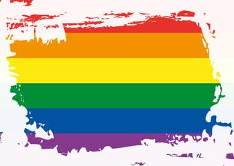 drapeau - gay - homosexuel - homosexualité - lesbien - sexualité - orientation sexuel - lutte