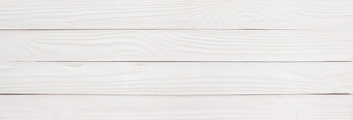Wooden table or floor painted white as a background, wood texture in high resolution