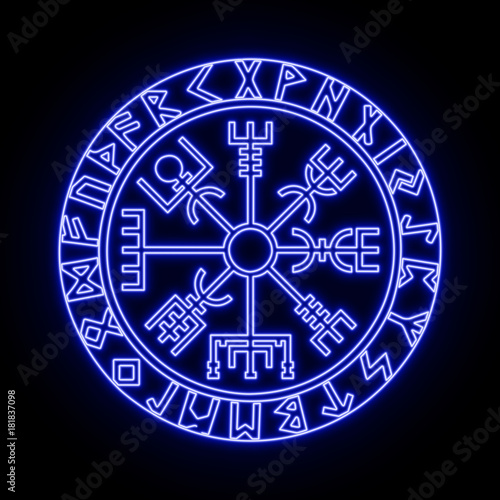 Vegvisir Meaning: Viking Protection Symbol