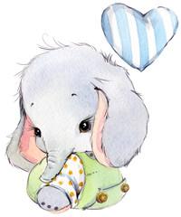 cute baby elephan