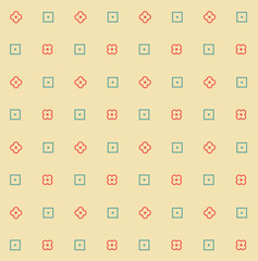 Digital seamless pattern background.