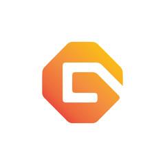 hexa letter g logo
