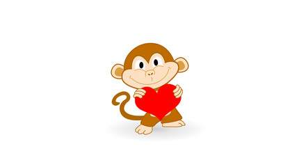 Monkey In Love