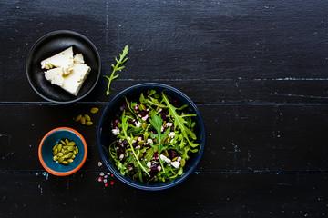 Beetroot salad bowl