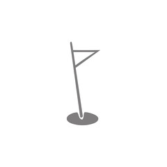 Golf flag icon. Web element. Premium quality graphic design. Signs symbols collection, simple icon for websites, web design, mobile app, info graphics