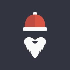 santa hats logo