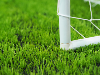green grass on football or soccer field
