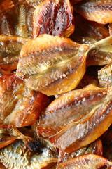 鯵せんべい dried fish chips