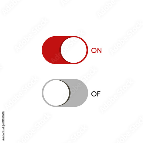 on off switches symbols