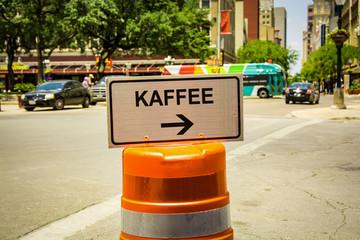 Schild 292 - Kaffee