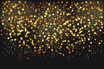 cartoon gold sparkles