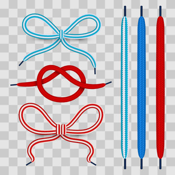 Colorful shoelace for footwear