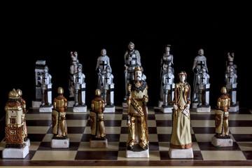 Hand Made Chess Pieces Set