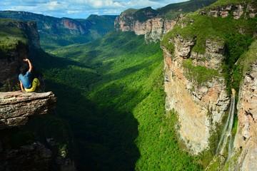 Valle de Pati (Pati Valley) in Chapada Diamantina national park, Bahia, Brazil
