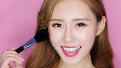 beauty make up woman