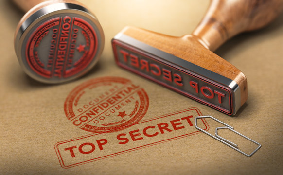 Top Secret Documents, Sensitive Information