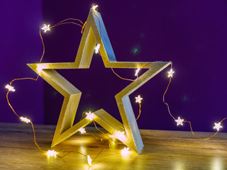 Star lit in the living room