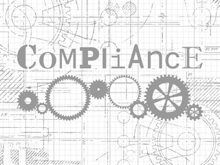 Compliance Graph Paper Tech Drawing