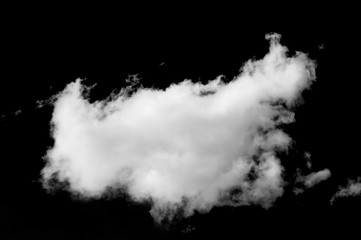 Texture. background. Drawing. Photo for designers, a cloud on a black background