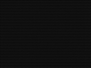 Charcoal black fabric knitted background.