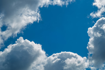 Texture, pattern, background. Landscape with clouds, screensaver, White cloud . Sky. sunny day, sunshine, skies, white clouds