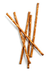 salted sticks isolated