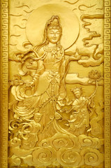 craft of golden Guan Yin