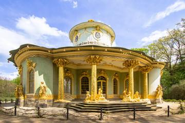 Teahouse in the Sans Souci park, Potsdam Wall mural