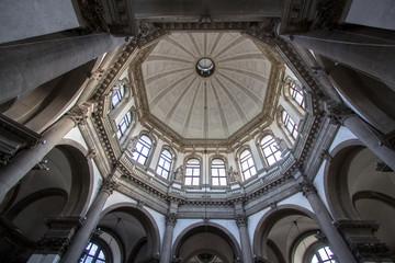 Interior of the Basilica Santa Maria della Salute, Venice