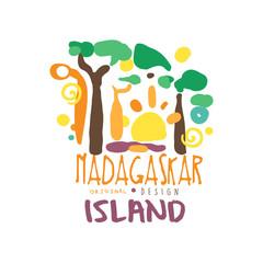 Exotic summer vacation travel to Madagascar logo