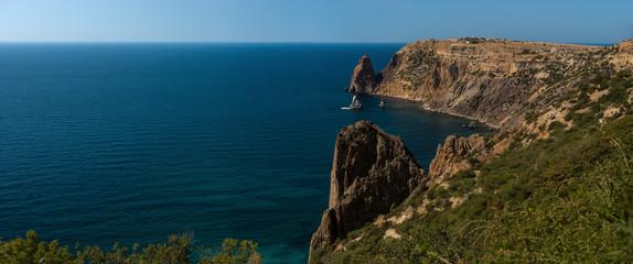 Beauty nature sea landscape Crimea