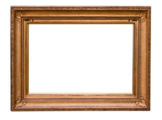 Handcrafted wood frame background