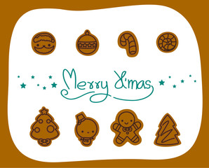 Christmas elements collection, Vector and illustrations