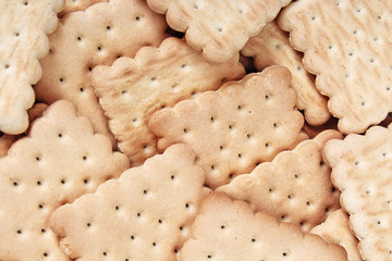 Biscuit. Texture background. Biscuits biscuit texture stack of biscuit crumpet tea biscuit pattern. Crumpets as background. Biscuits crumpet pattern texture. Chocolate coated biscuits.