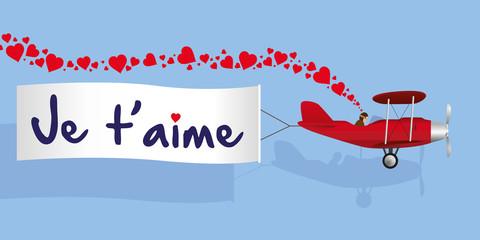 amour - je t'aime - romantique - aimer - amoureux -St Valentin - 14 février - lettre d'amour