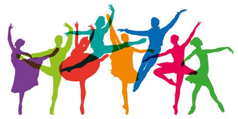 danse - danseuse - danseur - ballet - danse classique - silhouette - opéra - opéra de Paris