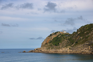 the lighthouse of Getaria
