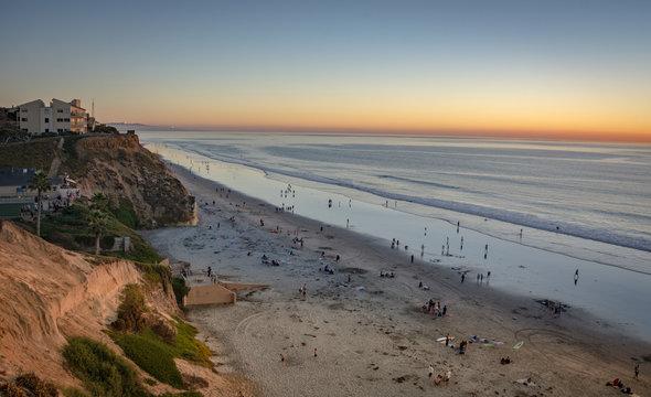 Sunset, Solana Beach, California