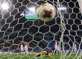 Europa League - Zenit Saint Petersburg vs FK Vardar