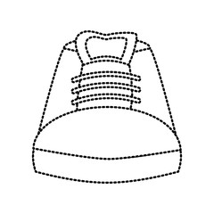 Shoe footwear isolated icon vector illustration graphic design