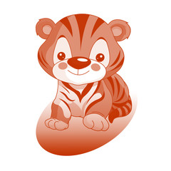 тигр рыжий