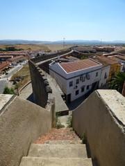 Muralla de Galisteo, pueblo español, en la provincia de Cáceres, Comunidad Autónoma de Extremadura