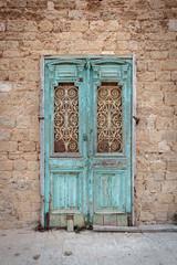 Broken ancient door