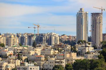 Jerusalem new buildings construction