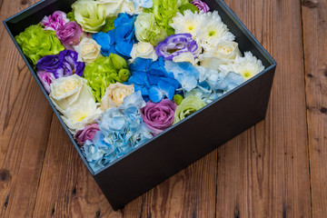 flower in the box