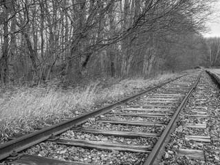 Kz Schienen Bahnhof Buchenwald