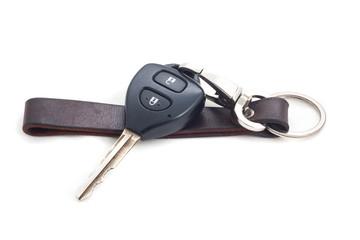 car keys isolated on white background